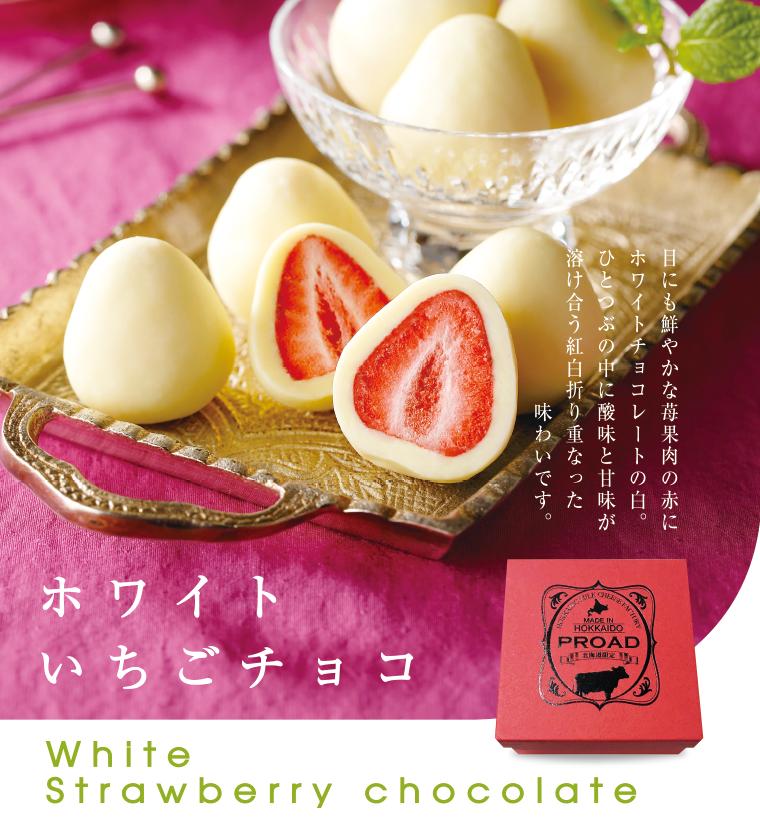 【ホワイトいちごチョコ】ホワイト